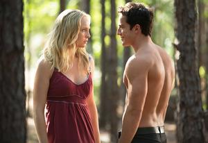 Candice Accola and Michael Trevino | Photo Credits: Bob Mahoney/The CW