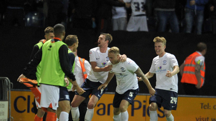 Soccer - Capital One Cup - First Round - Preston North End v Blackpool - Deepdale