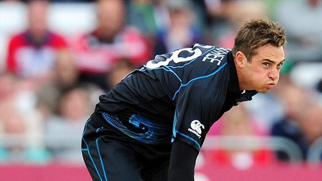 Cricket - Munro fires New Zealand to win