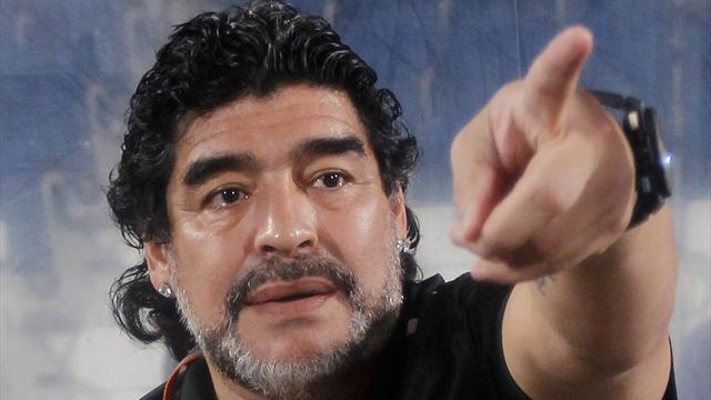 Premier League - Maradona 'a contender to replace AVB at Tottenham'