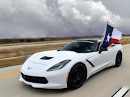 A Seriously Upgraded Corvette Stingray Hit 200 MPH On A Texas Highway [VIDEO]