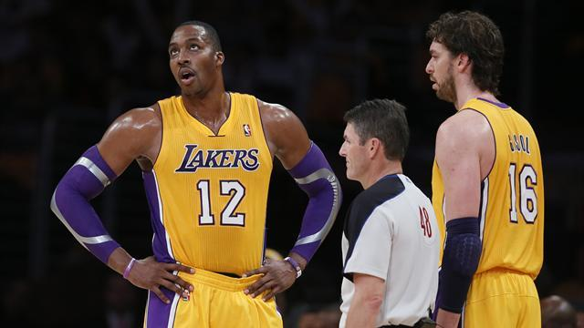 NBA - Further gloom for Lakers with Howard and Gasol sidelined