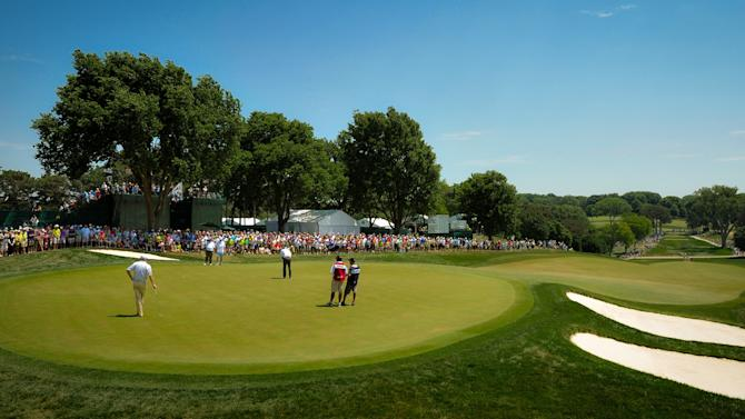 U.S. Senior Open Championship - Round Two