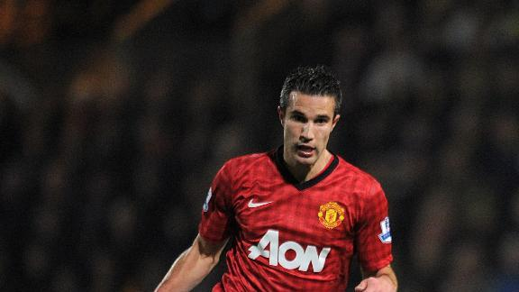 Sam Allardyce believes Robin van Persie, pictured, can be key to Manchester United's title hopes