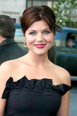 Premiere: Tiffani Thiessen at the New York premiere of Dreamworks' Hollywood Ending - 4/23/2002