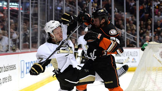 Pittsburgh Penguins v Anaheim Ducks