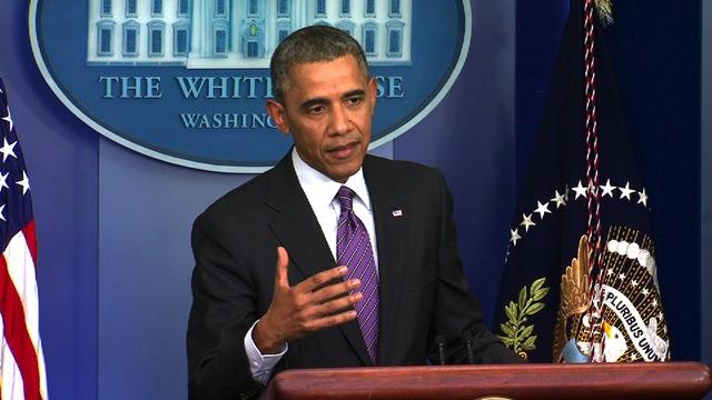 "Obama: Democrats should ""forcefully defend"" Obamacare"