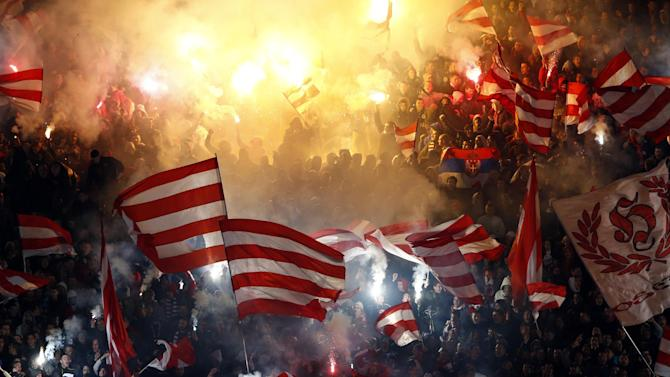 Champions League - UEFA bans Red Star Belgrade from Champions League