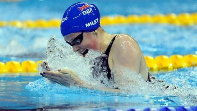 Swimming - Miley on target for medal in Chartres