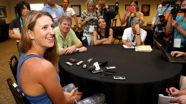 Tennis - Azarenka driven by new memories, not past glories