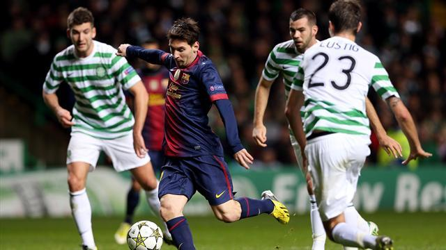 Champions League - Messi: Barcelona relaxed despite defeat