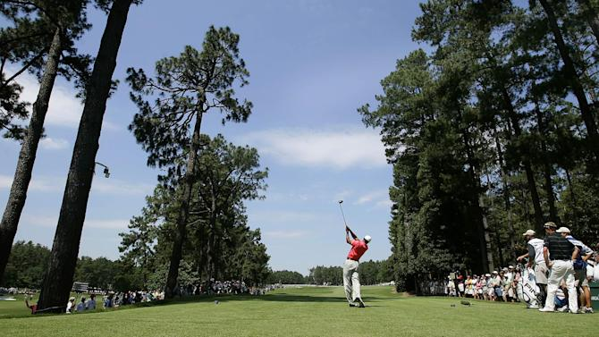 US Open - Final round tee times