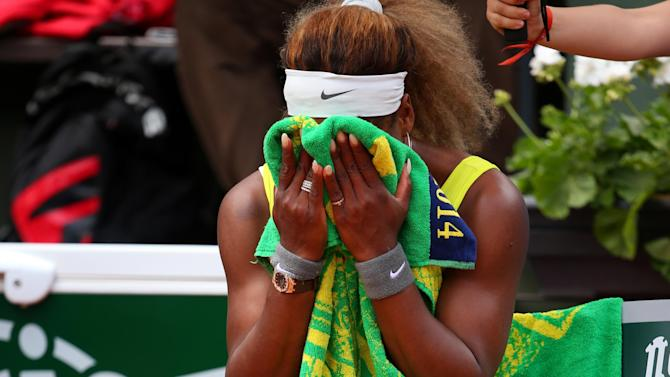 French Open - Serena Williams falls to shock defeat at Roland Garros