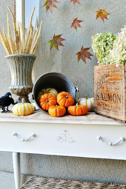 Fall Decorating Doesn't Have to Be Complicated