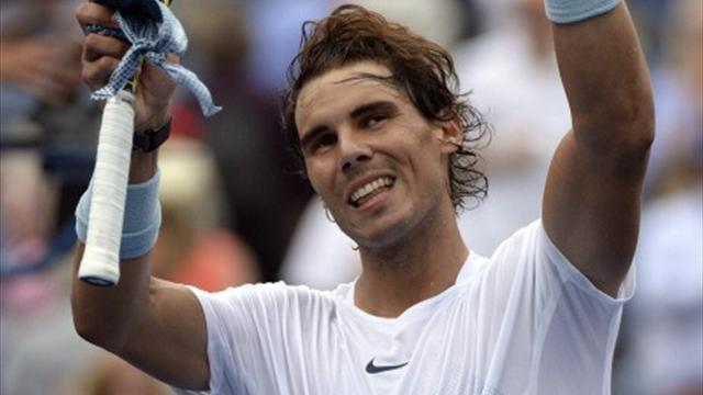 US Open - Nadal dismisses Harrison to move into second round