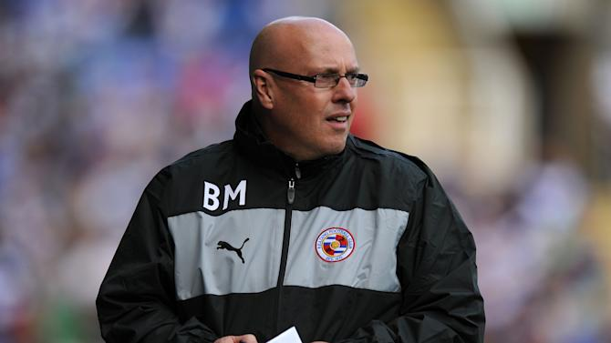 Brian McDermott's Reading registered their first win of the season on Saturday