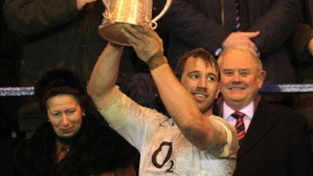 Rugby - Robshaw confirmed as England captain