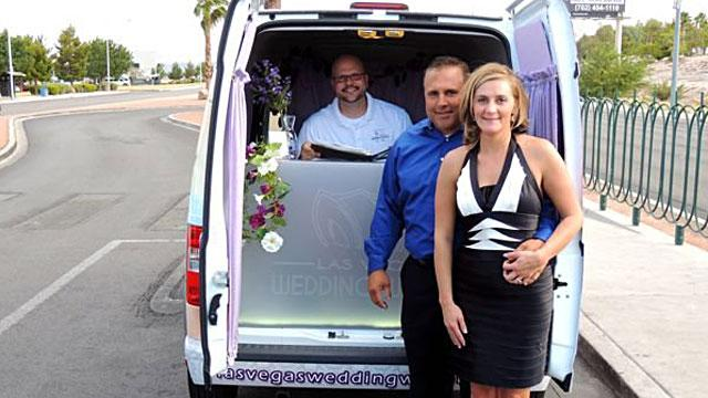 New to Vegas: The Drive-by Wedding