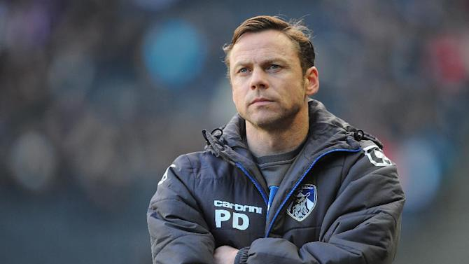 Paul Dickov has dismissed speculation about him taking the Blackburn job