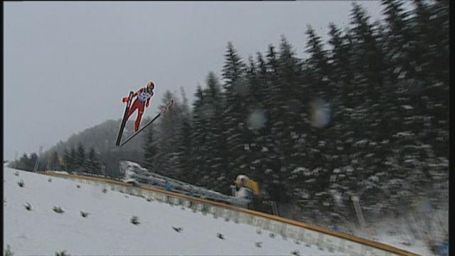 Ski Jumping - Wolny jumps through the fog to become world junior champion