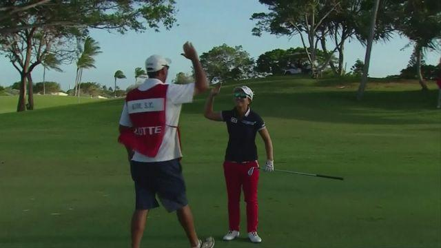 Dramatic hole-in-one secures Hawaii championship