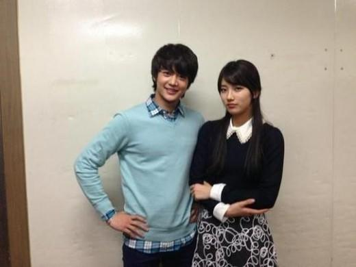Min Ho & Suzy's new photo revealed