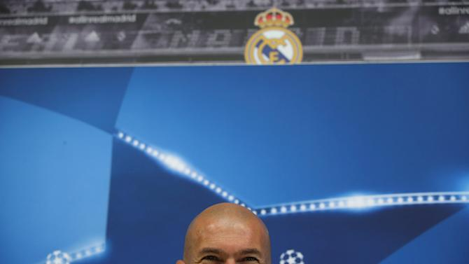 Football Soccer - Real Madrid news conference - UEFA Champions League Group Stage - Group F