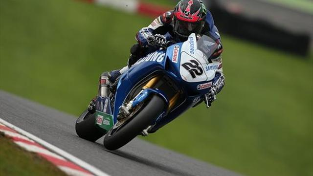 Superbikes - Brands BSB: Lowes leads final damp free practice
