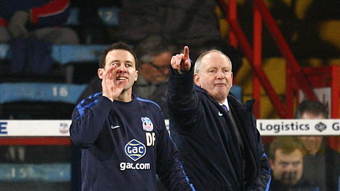 Lennie Lawrence, right, has left Palace to join his old boss at Bolton