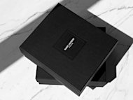 The Saint Laurent Paris box shown on Facebook