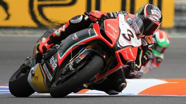 Biaggi beats Britain's Sykes to WSBK title by half a point