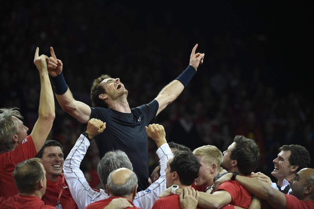Murray on 'top of the world' after Davis Cup win