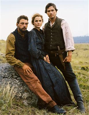Skeet Ulrich, Keri Russell and Matthew Settle TNT's Into the West