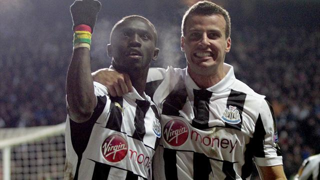 Europa League - Late Cisse winner guides Newcastle into quarters