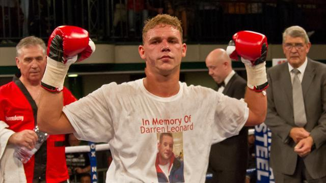 Boxing - Saunders: I'm ready for elite fights