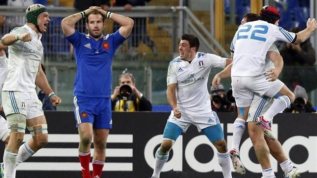 Six Nations - 'Italy were just better', admit France