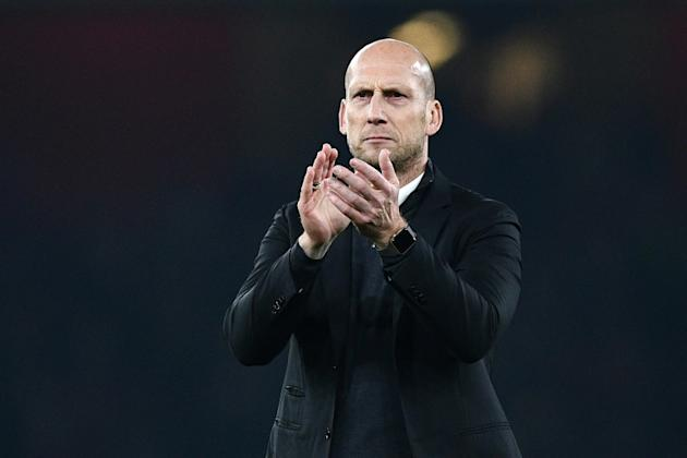 Reading's manager Jaap Stam won three Premier League titles, an FA Cup and the 1999 Champions League during his three year stay at Manchester United