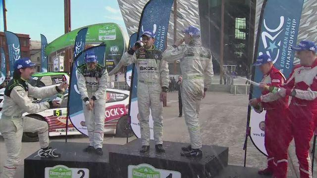 Lappi wins the Circuit of Ireland International rally