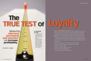 What is Customer Loyalty? Part 2: A Customer Loyalty Measurement Framework image True Test of Loyalty Article Cover