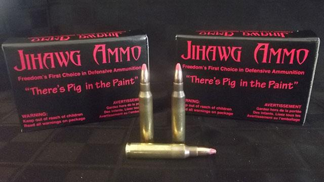 Pork-Laced Ammo Designed to Send Muslims to Hell