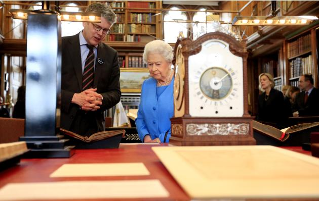 The Queen Attends George III Project Launch In Windsor