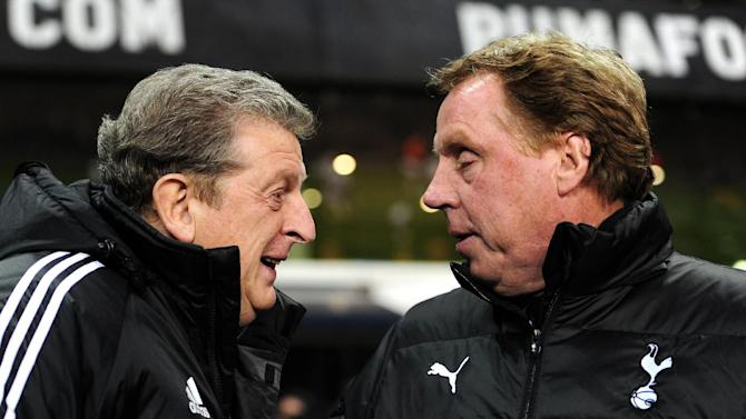 Harry Redknapp (right) has defended Roy Hodgson's England