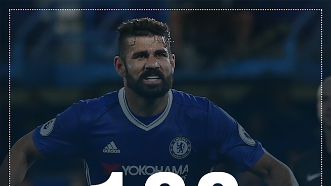 Diego Costa returns for his 100th Chelsea appearance