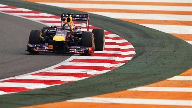 Indian Grand Prix - Vettel blitzes field in qualifying