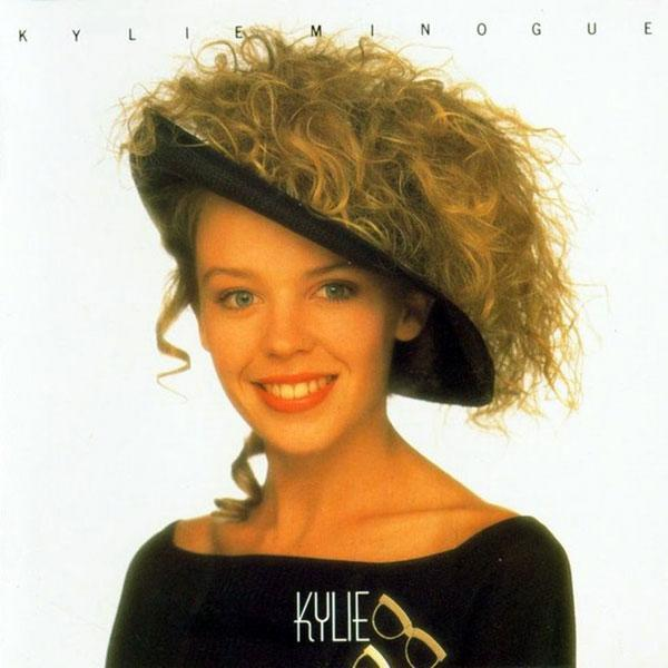 Kylie debut album cover, 1989