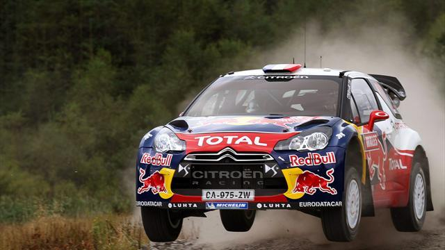 WRC - Loeb thrives on asphalt in Spain