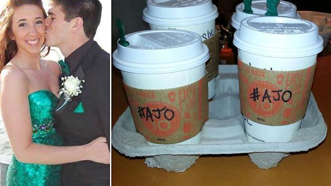 Parents' Pumpkin Spice Latte Act of Kindness in Honor of Daughter Goes Viral