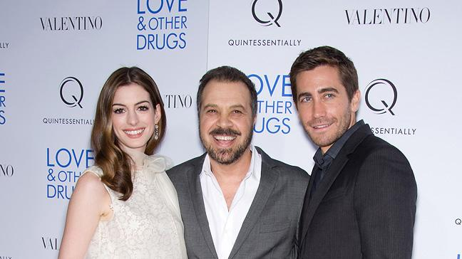 Love and Other Drugs 2010 NYC Screening Anne Hathaway Ed Zwick Jake Gyllenhaal