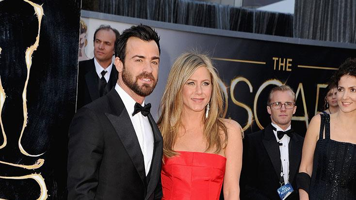 85th Annual Academy Awards - Arrivals: Justin Theroux and Jennifer Aniston