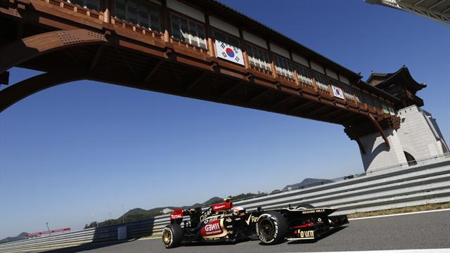 Formula 1 - Future of Korean GP hangs in the balance
